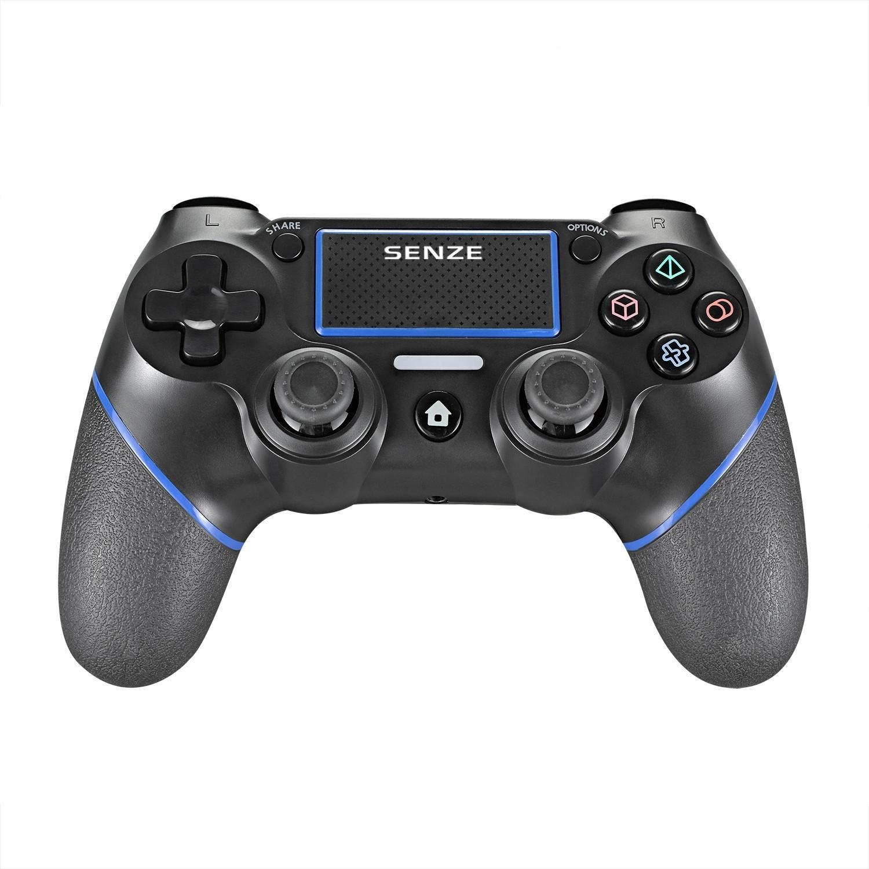 Senze SZ-4002B bluetooth Gamepad Sexaxlig sensormotor Vibration Spelkontroller för Sony för Playstation 4 3 Spelkonsol P