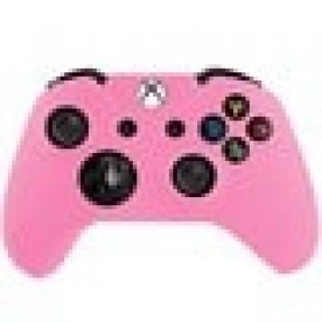 Silikon skydd Xbox One Handkontroll Rosa