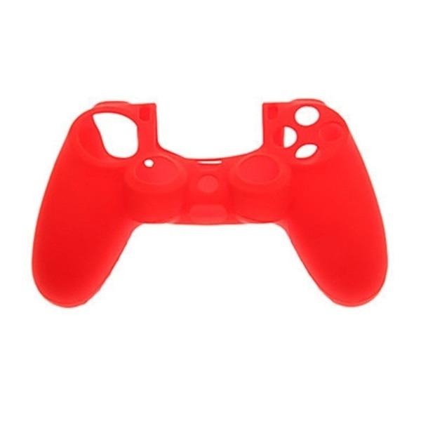 Silikongrepp till Sony PS4 Controller Röd