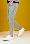 Skinny Fit Stripe Detail Denim Jeans