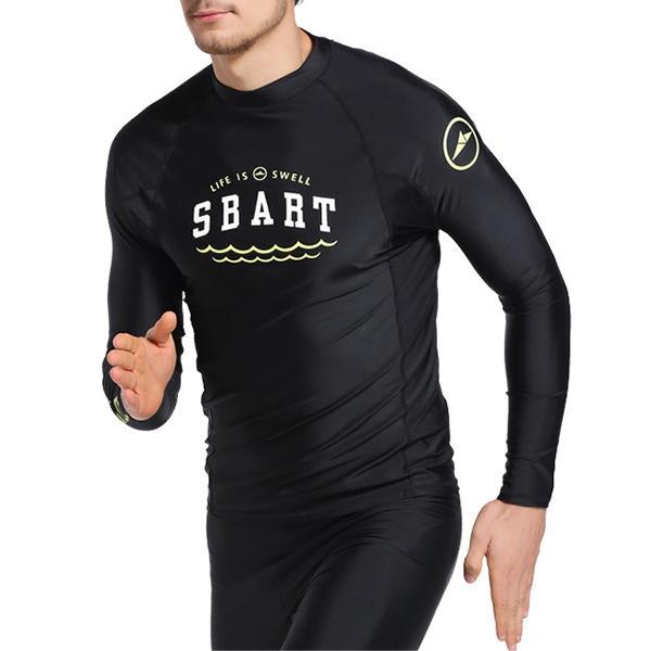 Skinny patchwork för män Wter Protective Diving Suit Baddräkt för badkläder för män