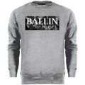 Sweatshirts Ballin Est. 2013 Camo Grey Sweater