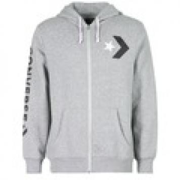 Sweatshirts Converse CONVERSE STAR CHEVRON GRAPHIC FULL-ZIP HOODIE