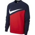 Sweatshirts Nike M NSW Swoosh Crew Ft Long Sleeved T-Shirt