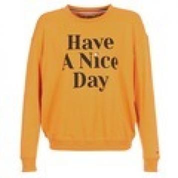 Sweatshirts Tommy Jeans TJW HAVE A NICE DAY SWEATSHIRT