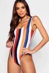 Tall School Stripe Scoop Swimsuit