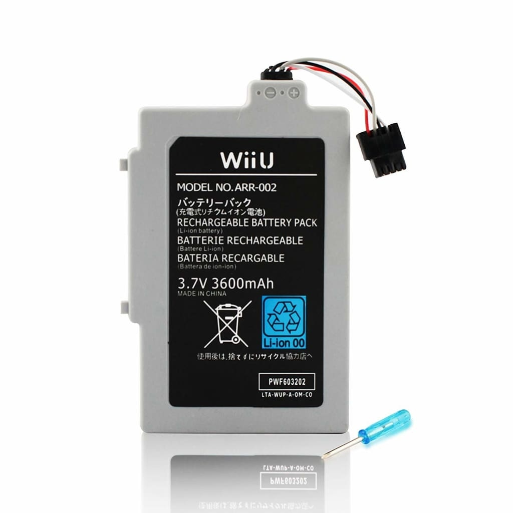 Tech of sweden Batteri till Nintendo Wii U 3600mah