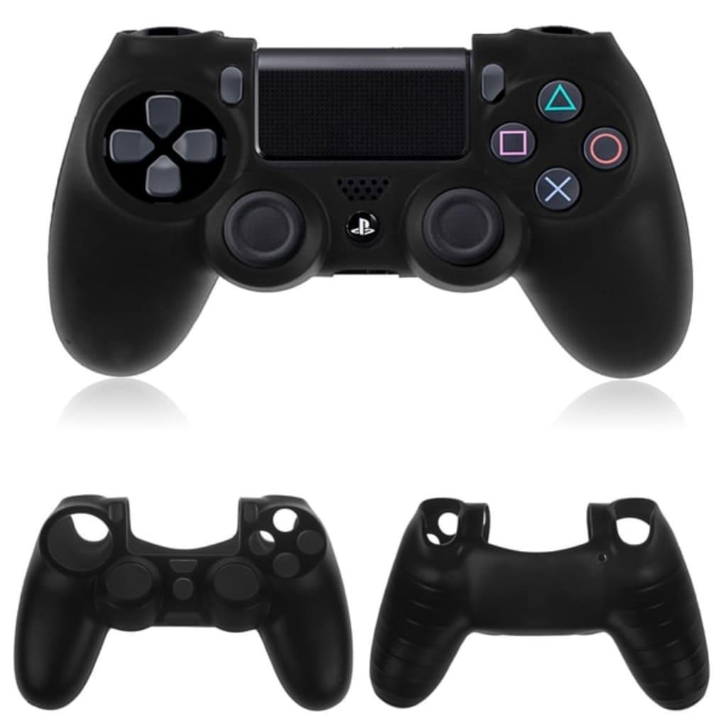 Tech of sweden Silikon Skydd för Playstation 4 PS4 Kontroll – Svart