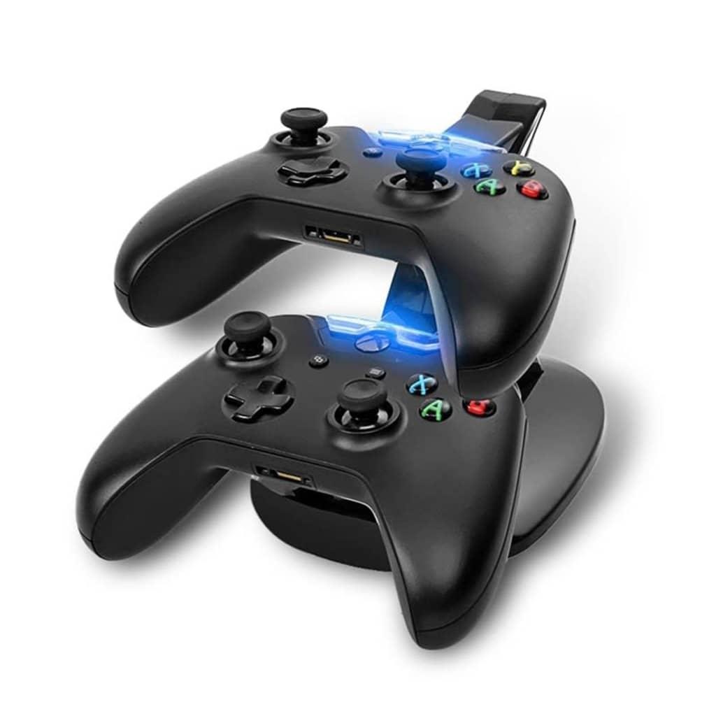Tech of sweden Svart Laddningsställ Dockningsstation för Xbox One kontroller
