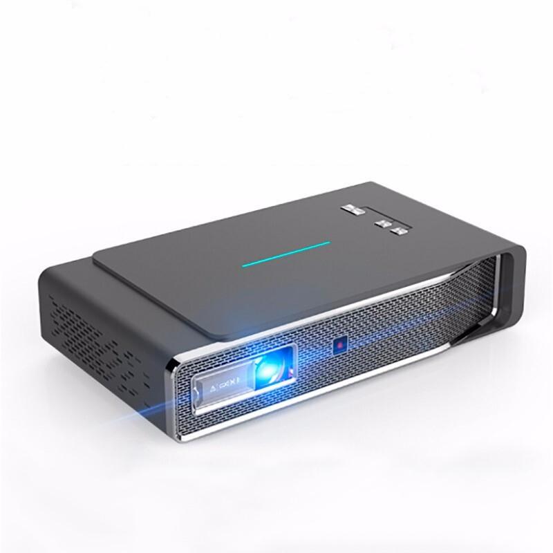 Toumei V5 Intelligent DLP-projektor 1280 * 800dpi 3800 Lumen 3D Full HD 1080P 4K Avkodning Trådlös Samma skärm LED-proje