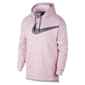 Träningshuvtröja Nike Therma Modern i pullover-modell för män - Rosa