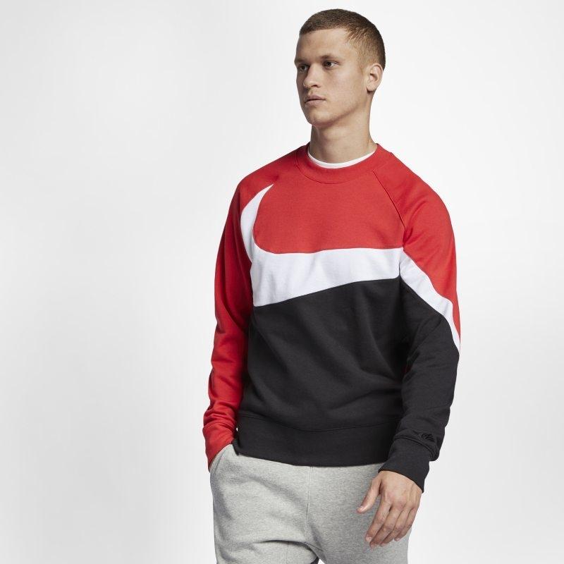 Tröja med rund hals i frotté Nike Sportswear – Svart