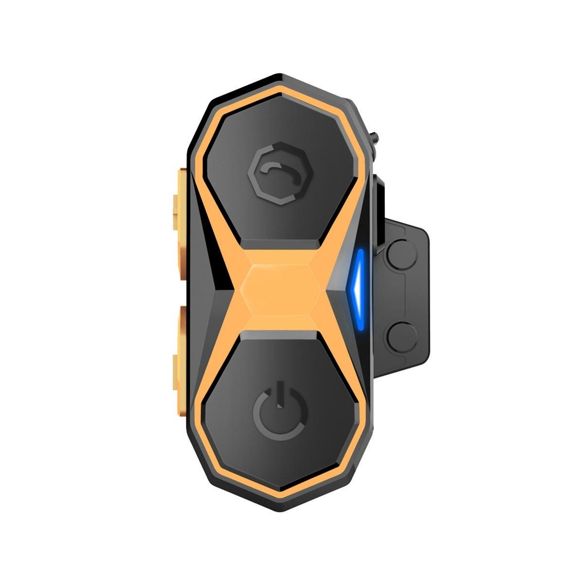 WT005 Motorcykelhjälm Interphone Intercom bluetooth3.0 1000M 2,4 GHz