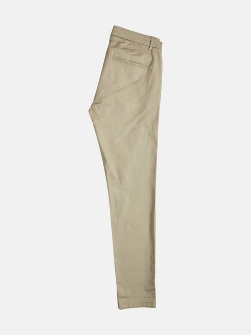 X-slim stretch chinos – Ljusbeige