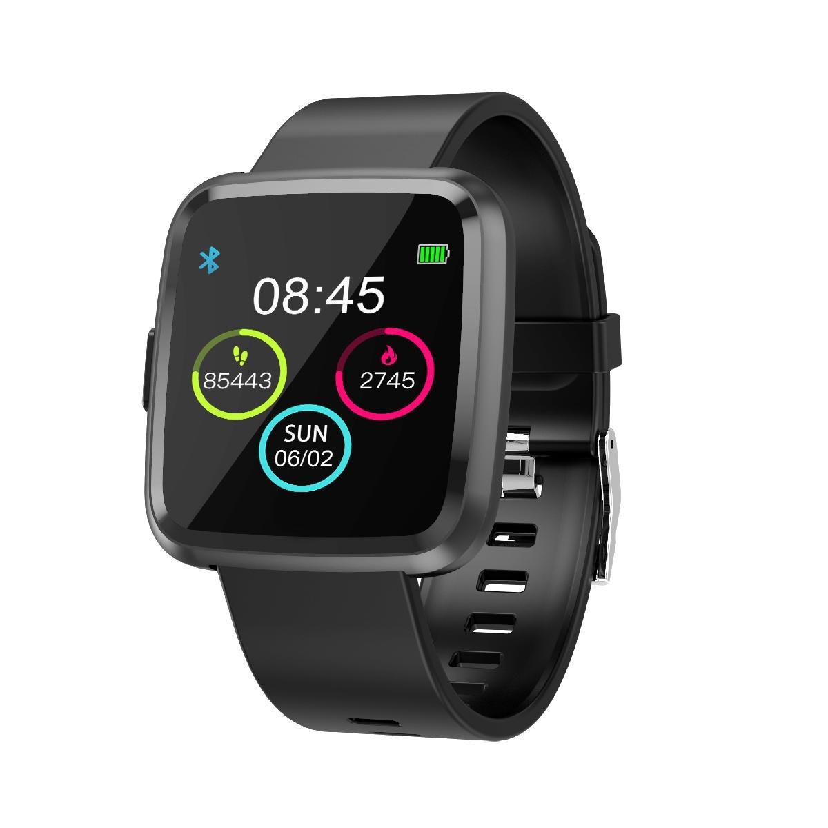 XANES®Y7P1.3IPSFärg Touch Skärm IP67 Vattentät Smart Watch Hjärtfrekvensmätare F
