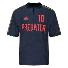 adidas Tränings T-Shirt Predator ZZ Icon – Navy/Röd LIMITED EDITION
