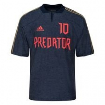 adidas Tränings T-Shirt Predator ZZ Icon - Navy/Röd LIMITED EDITION