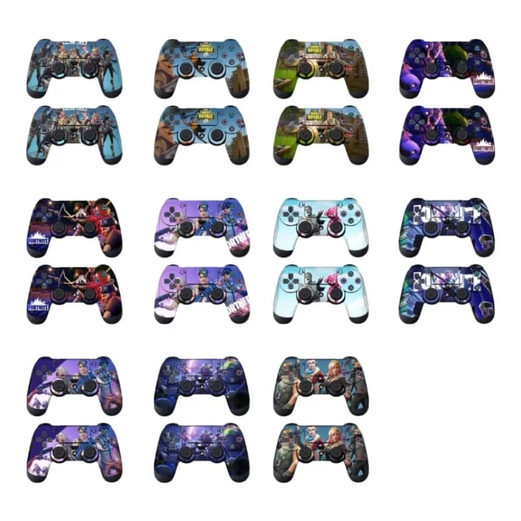 eStore 2x Fortnite Skins till Playstation 4 Handkontroller – Nr. 1
