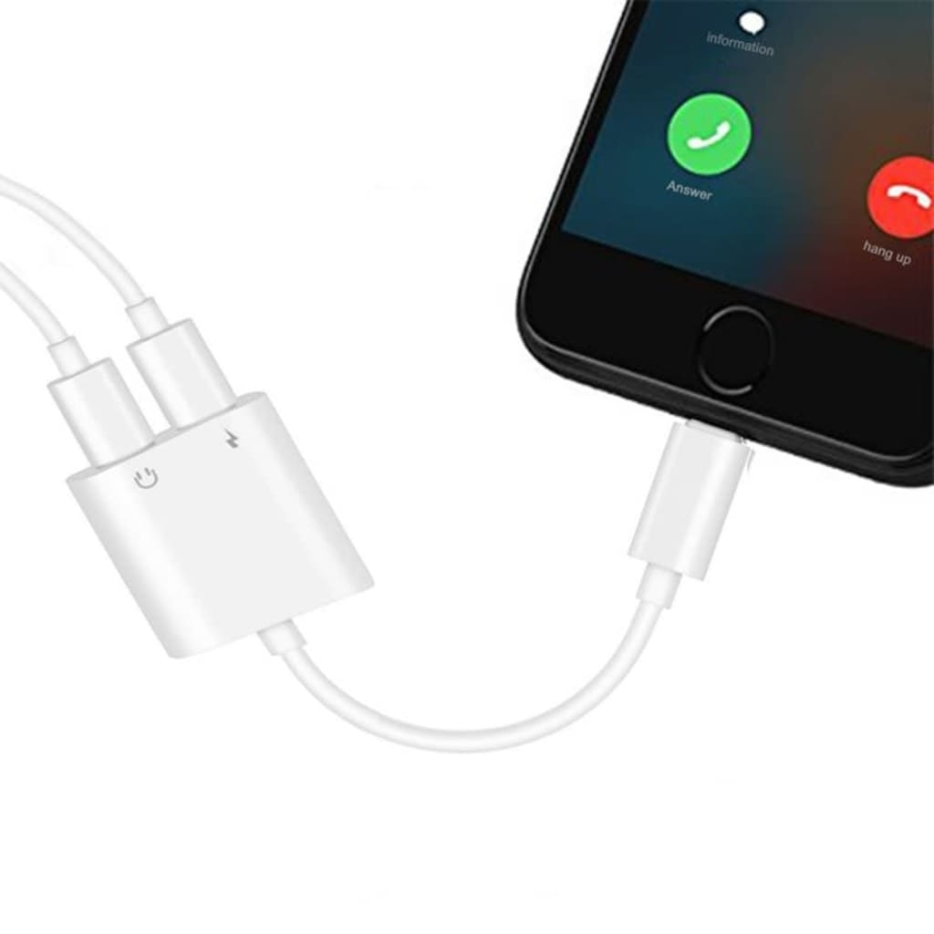 eStore Apple Lightning Splitter – Två Portar