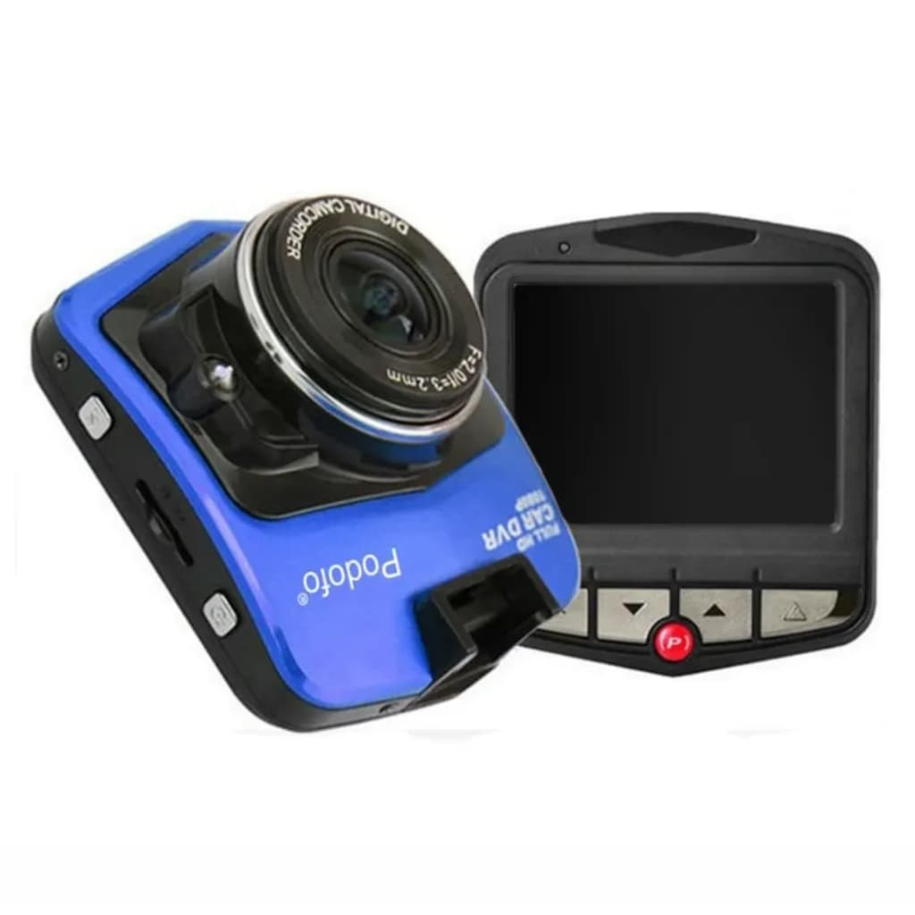 eStore Bilkamera Foto / Video 1080P HD Car DVR & Full HD – Blå