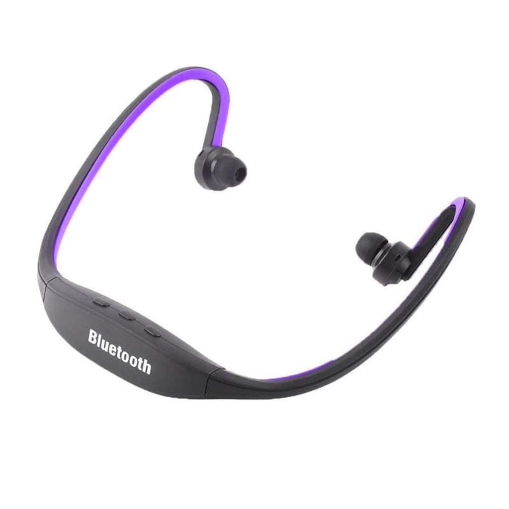 eStore Bluetooth Headset – Sport Version – Enkel Installation – Lila