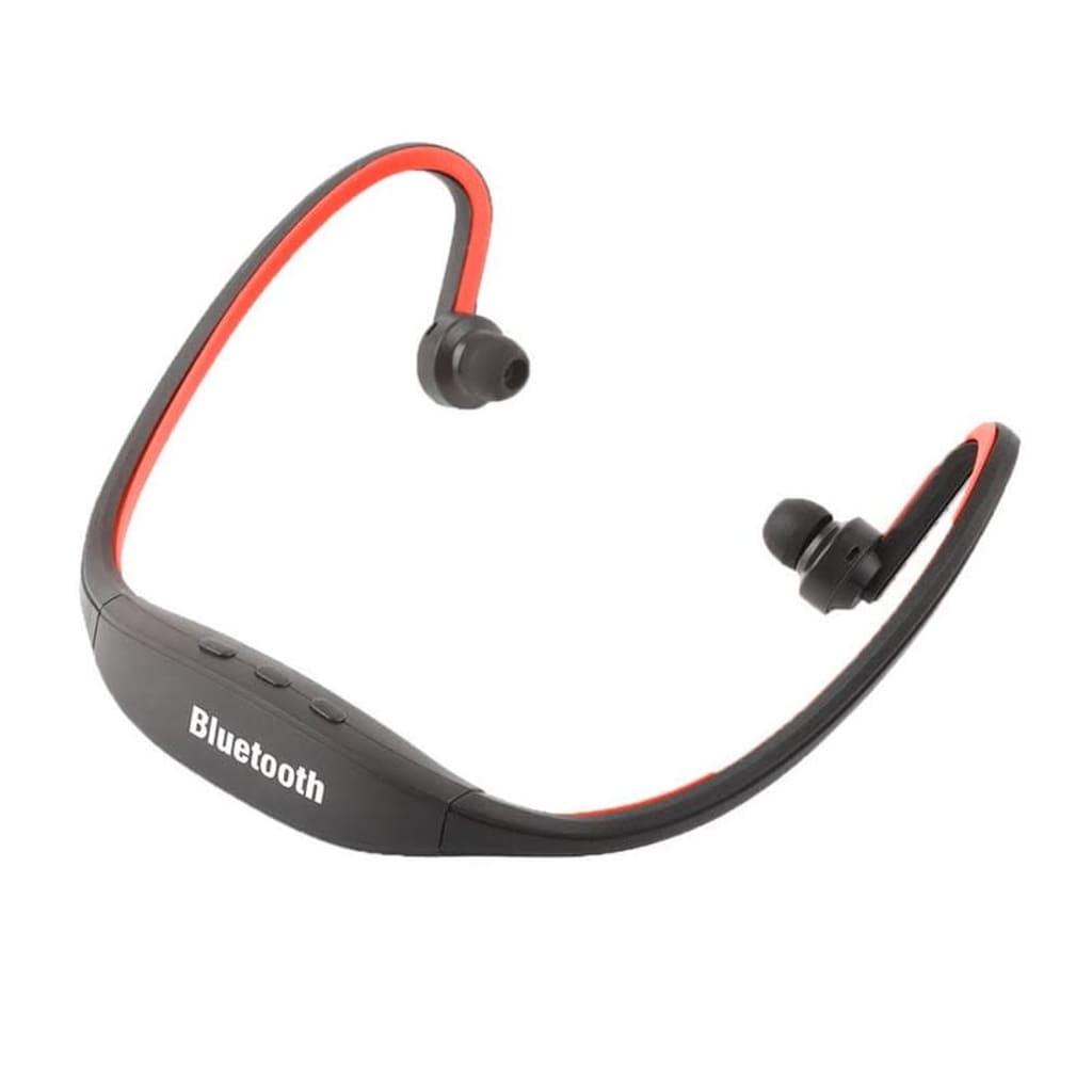 eStore Bluetooth Headset – Sport Version – Enkel Installation – Röd