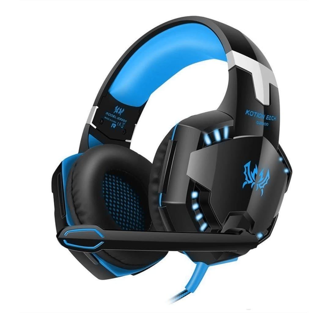 eStore G2000 Pro Gaming Headset – Blå