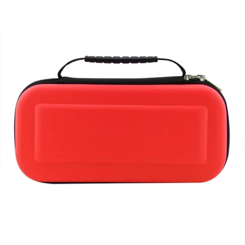eStore Nintendo Switch väska för spelkonsol och kassetter – Röd
