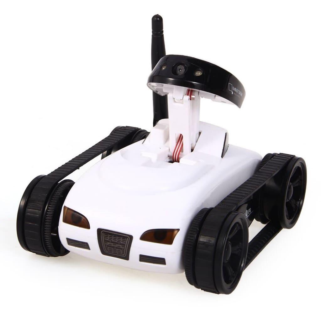 eStore Radiostyrd stridsvagn med kamera – Vit