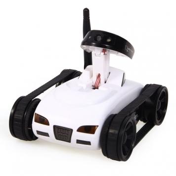 eStore Radiostyrd stridsvagn med kamera - Vit