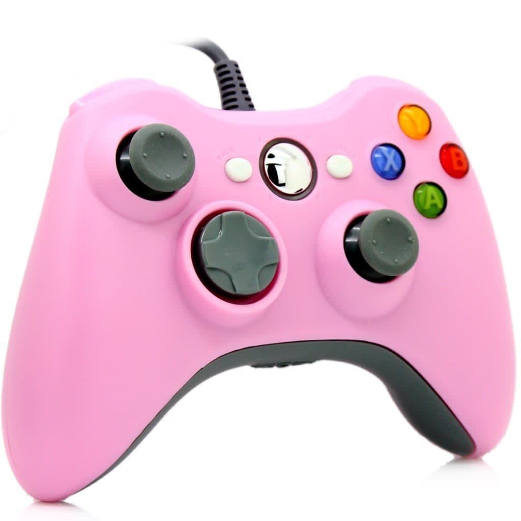 eStore Trådad Spelkontroll för Windows och Xbox 360 – Rosa