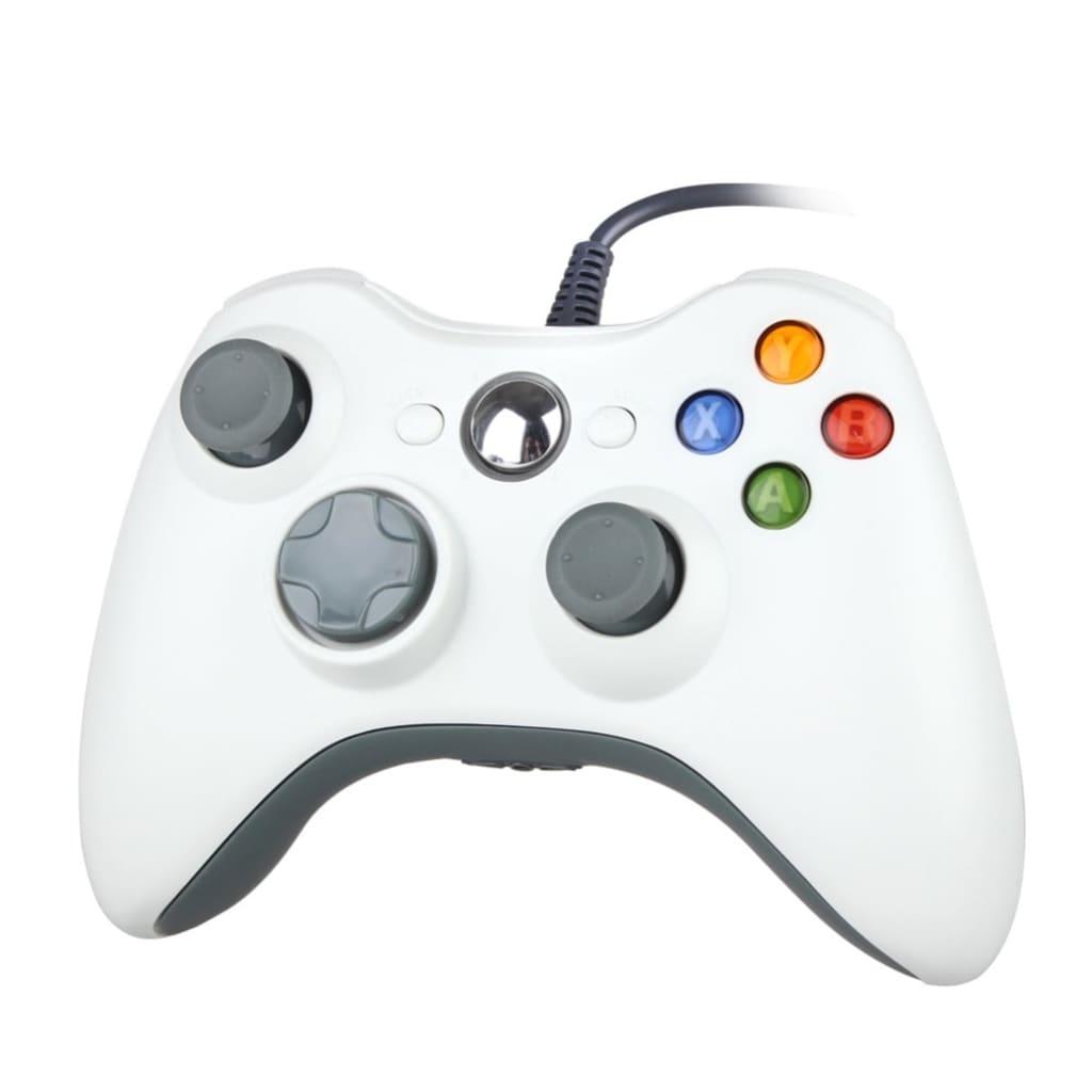 eStore Trådad Spelkontroll för Windows och Xbox 360 – Vit
