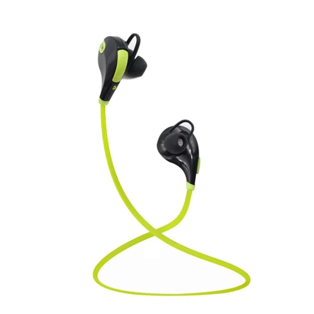 eStore Trådlösa Sporthörlurar / Headset – Grön