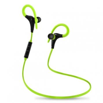 eStore Trådlösa hörlurar med Bluetooth - Grön