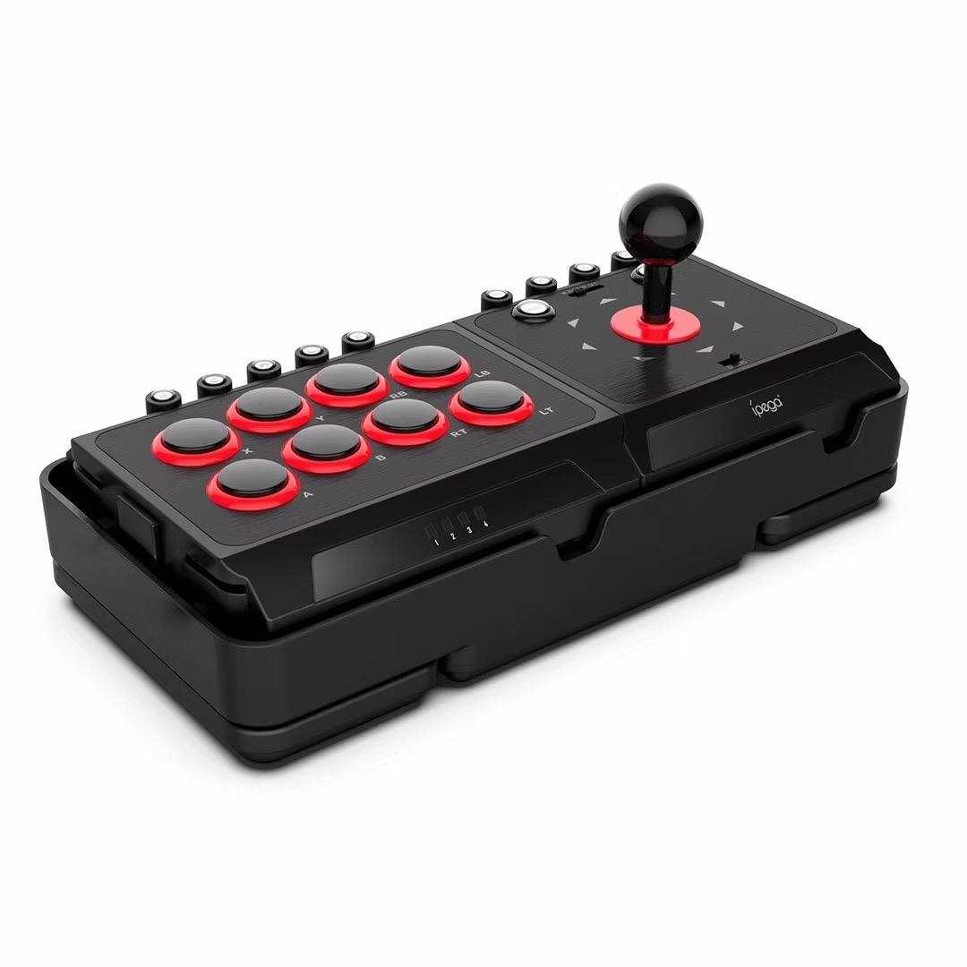 iPega PG-9059 DC5V USB Fight Joystick Arcade Stick för Nintendo Switch NS PS4 PS3 PC Android Game Controller med Turbo M